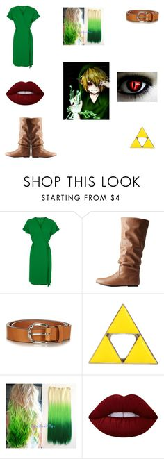 """Female Ben Drowned"" by lily-poindexter ❤ liked on Polyvore featuring Topshop, Charlotte Russe, Étoile Isabel Marant and Lime Crime"
