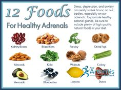 12 Foods For Adrenals