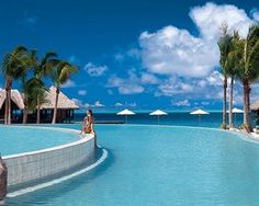 Hilton Bora Bora Nui Resort & Spa, winner of the Fodor's 100 Hotel Awards for the Trusted Brand category #travel