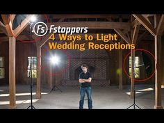 ▶ Fstoppers Tutorial: How To Light Wedding Reception Venues for Wedding Photography - YouTube
