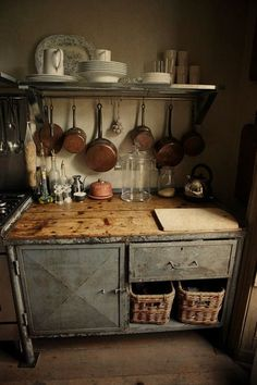 A kitchen space as old as fairy tales.