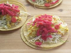 Fish Tacos with Pickled Purple Cabbage Salsa #weekdaysupper