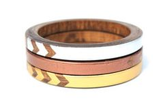 Hey, look what I found! Check out Alexis Skinny Bangle Set on Bezar