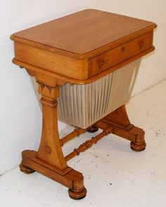 This gave me a great idea for making a file cabinet from an old sewing table..
