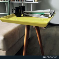 Did you know? #Using #yellow tones in your #decoration help you to be more #energetic! #EnzaHomeUK