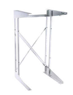 Stack stand for use with washer and dryers. Intallation kit is designed to stack a compact dryer over a washer. Washer And Dryer Stand, Stackable Washer And Dryer, Stacked Washer Dryer, Small Apartments, Drafting Desk, Diy Projects, Mirror, Electric Dryer, Laundry