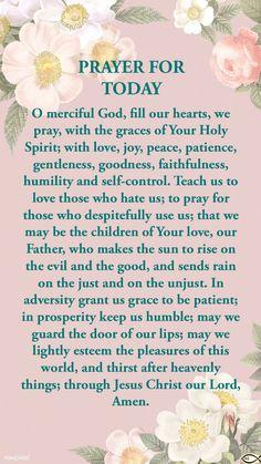 Good Prayers, Simple Prayers, Powerful Prayers, Special Prayers, Prayer For Guidance, Faith Prayer, Power Of Prayer, Faith In God, Daily Morning Prayer