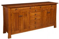 L&M Woodworking   Grant Sideboard