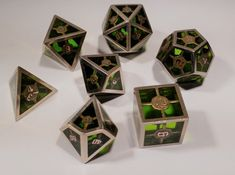 Check out Epoxy Dice Set With Decader by JulienBol on Shapeways and discover more 3D printed products in Dice.