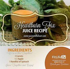 Juicing Recipe for Heartburn