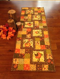 Harvest Colors Table Runner on Etsy, $74.00