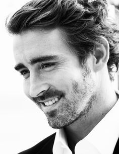 Lee Pace - - - I'd like to run my fingers through that hair.