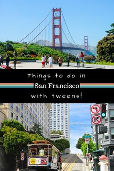 Looking for things to do in San Francisco with kids. We have activities that your tween will love.  interesting museums to waterslides and outdoor activities.  EXPERT local tips included.  | things to do in SanFrancisco travel | things to do in San Francisco food | San Francisco attractions | theme parks San Francisco via @wyldfamtravel