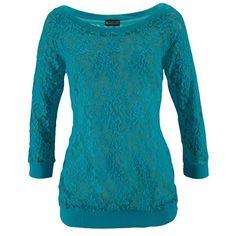 Longsleeve 14,99 € ♥ Hier kaufen: http://www.stylefruits.de/shirt-mit-spitze-laura-scott/p4218839