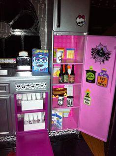 Huge Custom Monster High School Barbie Doll House OOAK Dollhouse Furniture | eBay