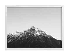 """""""the peak"""" - Art Print by lulu and isabelle in beautiful frame options and a variety of sizes."""