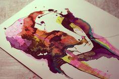 Face me by LucyBumpkinova on DeviantArt Watercolor Face, Watercolor Tattoo, Deviantart, Watercolour Tattoos, Watercolor Tattoos