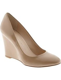 Maisie Wedge - stunning! So neutral and elegant. Guaranteed to go with any outfit. The wedge detail is a bonus comfort factor. Love!!
