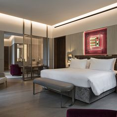 Awesome luxury room in Fendi Private Suites hotel. Learn more at vossy.com