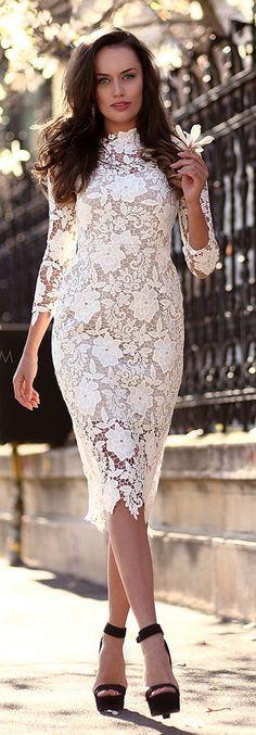 Ivoire Lace Inspiration Dress