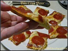 Ginny's Low Carb Kitchen: THIN CRUST PIZZA CRUST: 2 tablespoons Parmesan cheese 1 tablespoon almond flour - Honeyville is what I used 1 heaping teaspoon psyllium husk powder 1 egg 1 tablespoon Marsala wine -- OR any other liquid. Diabetic Recipes, Low Carb Recipes, Cooking Recipes, Oven Recipes, Cooking Videos, Pizza Recipes, High Protein Low Carb, Low Carb Lunch, Lowcarb Pizza