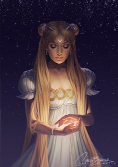 Sailor Moon by Charlie-Bowater on @DeviantArt