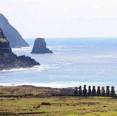 Île de Pâques Beau Site, Architecture, Nature, To Go, Images, Mountains, Souffle, Travel, Outdoor