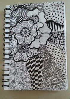 Doodle Art Designs, Doodle Patterns, Zentangle Patterns, Zentangle Drawings, Doodles Zentangles, Doodle Drawings, Mandala Art Lesson, Mandala Drawing, Doodle Inspiration