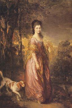 Retrato de Mrs. Lowndes-Stone (1775) Thomas Gainsborough