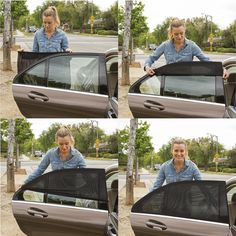 Amazon.com: ShadeSox Universal Fit Car Side Window Baby Sun Shade   Protects Your Baby and Older Kids from the Sun, Fits All (99%) Cars! Most SUVs! (2 Piece)   Travel eBook Included!: Automotive