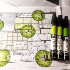 744 отметок «Нравится», 8 комментариев — Eric Arneson (@pangeaexpress) в Instagram: «#landscapearchitecture #landscapedesign #project  #landarch #art #sketch #ARQSKETCH #artschool…»