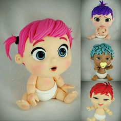polymer clay figurines