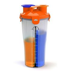 Whey Protein Shaker Mixer Cup Sport Fitness Gym BPA Free Plastic Water Bottle Two Bottle Mouth Freeshipping Protein Shaker, Shaker Cup, Whey Protein, Mixer, Water Bottle, Canning, Drinks, Free, Drinking