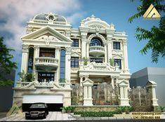 Mẫu nhà đẹp phong cách cổ điển sang trọng http://www.kientrucadong.com/mau-nha-dep-thiet-ke-biet-thu-co-dien-tp-hai-phong-657-100.html