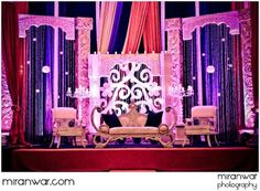RECEPTION STAGE DECOR Bride and Groom Table Floral and Decor Inspiration 2