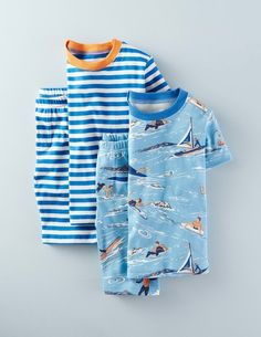 Twin Pack Short Johns 24138 Nightwear at Boden