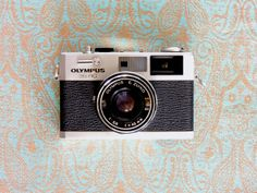 Our Olympus 35 RC. A small rangefinder with an excellent lens.