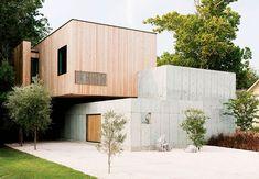 Betonvilla Houston | Træ og beton i harmoni | Bolig Magasinet | Boligmagasinet.dk