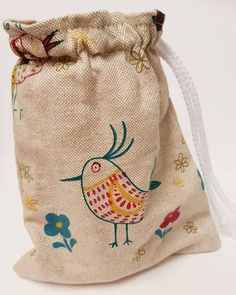 This item is unavailable Pet Bag, Toy Storage Bags, Dog Store, Linen Bag, Bird Design, Dog Accessories, Dog Treats, Cosmetic Bag, Drawstring Backpack
