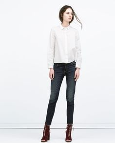 LOW RISE SKINNY TROUSERS-Woman-NEW THIS WEEK | ZARA United States