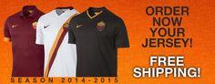 camiseta As Roma 2015,nueva equipacion del As Roma 2015,camisetas As Roma baratas