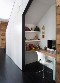 10 things to do with the space under the stairs on domino.com