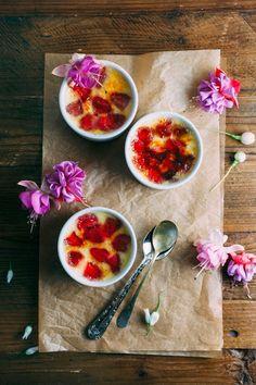 Strawberry Crème Brûlée