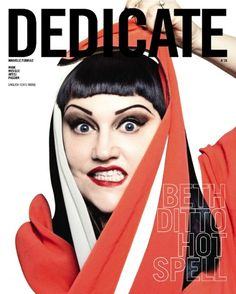 Ditto covers DEDICATE Magazine - Spring/Summer 2012 Photographed by Damien Blottiere Beth Ditto covers DEDICATE Magazine - Spring/Summer 2012 Photographed by Damien Blottiere Beth Ditto, Celebrity Magazines, Just Style, Rock Chick, Fashion Art, Male Fashion, Gossip, Spring Summer, Magazine Covers