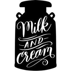 Silhouette Design Store - View Design #249946: milk and cream