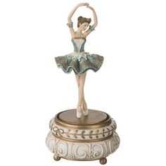 BALLERINA / Sugar Plum Fairy MUSIC BOX. Store Closing Sale 50% OFF! –... ❤ liked on Polyvore featuring fillers, decor, furniture, home, other, backgrounds, embellish and detail