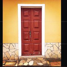 Porta | Igreja Matriz - São Thomé das Letras - Mg