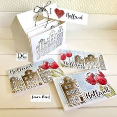 9th October, July 15, Holland, Collor, Handmade Tags, Mini Albums, Different Colors, Decorative Boxes, Card Making