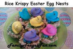 Fun Easter Food Ideas: Kellogg's Rice Krispy Nests Recipe