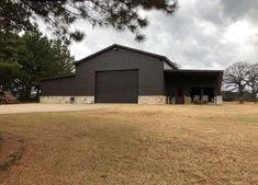 Garage Plans With Loft, Pole Barn House Plans, Barn Garage, Garage House, Garage Ideas, Metal Shop Building, Building A Garage, Building A House, Small Rustic House